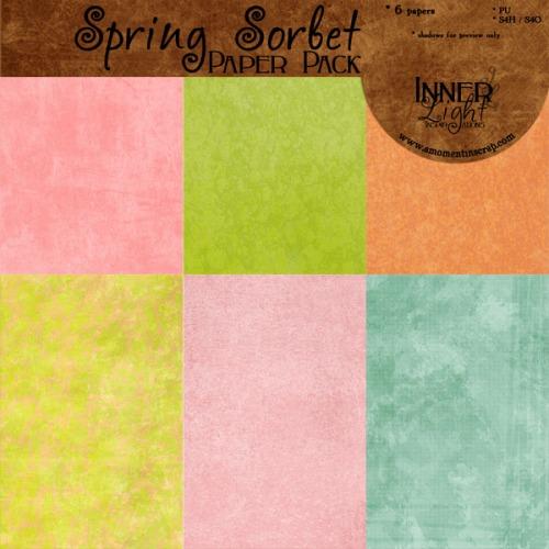 Spring Sorbet Freebie